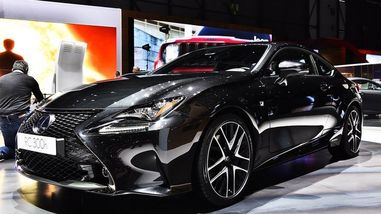 2019 lexus rc 300h f sport black special edition review at 2018 geneva motor show youtube. Black Bedroom Furniture Sets. Home Design Ideas