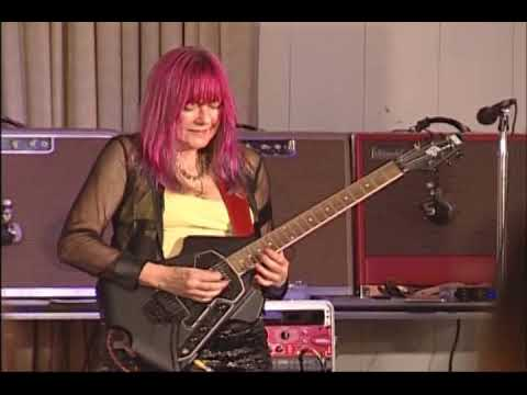 Female Guitarist Shredmistress Rynata | NAMM Event | Burns Flyte Guitar