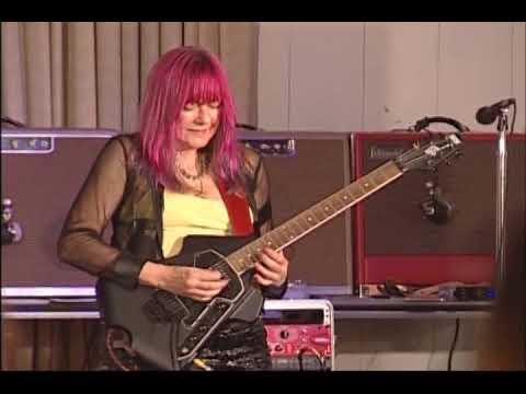 Female Guitarist Shredmistress Rynata | NAMM Event | Burns Flyte Guitar
