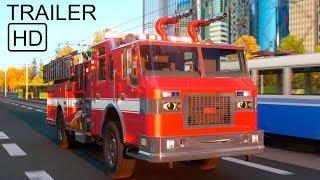 Мультики про пожежні машини для хлопчиків. Робочі машини для дітей