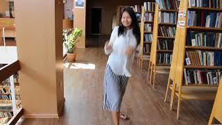 Кики челлендж в библиотеке. Центральная городская библиотека г.Актау. Kiki challenge