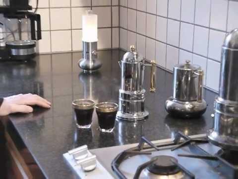 Espressobrygning Youtube