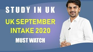 Good News : University of East London - September Intake | Study In UK Student Visa 2020