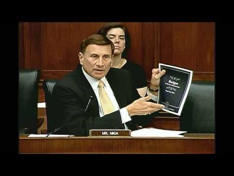 Rep. Mica at Oversight Hearing on the Gulf Oil Spill (Opening Statement)