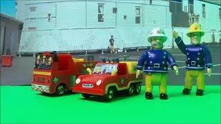 Feuerwehrmann Sam / Fireman Sam - Peppa Pig Fire Alarm at School - new episode.