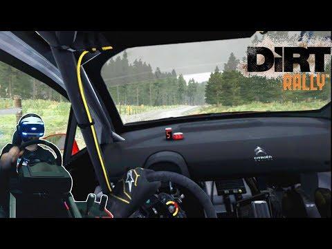 Наваливаем в онлайне в DiRT Rally на Ford Focus, Citroen C4 и Mini - Sony PlayStation 4 Pro VR