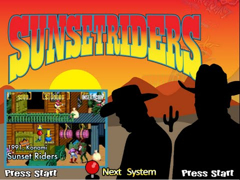 Sunset Riders (Arcade)