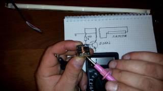 Простой драйвер для ламп подсветки монитора