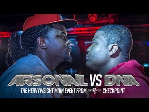 ARSONAL VS DNA | Don't Flop Rap Battle
