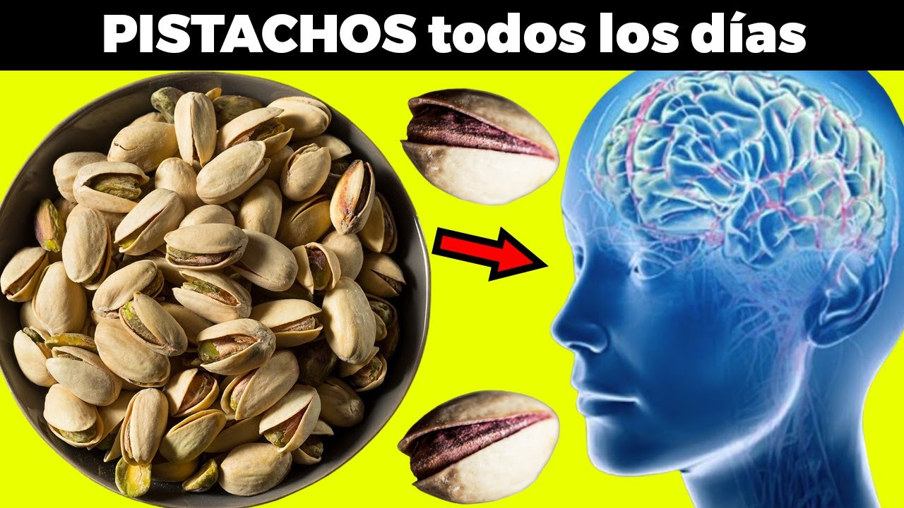 Si comes 5 pistachos todos los días le pasa esto a tu cuerpo
