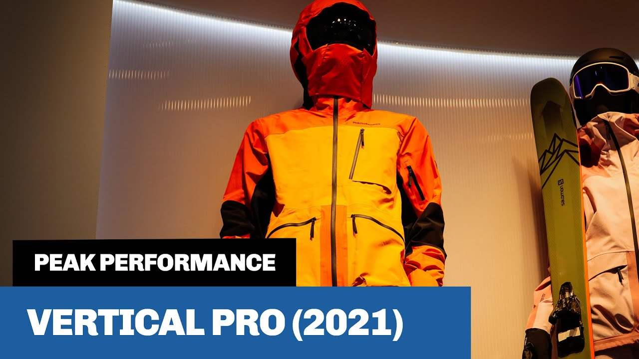Best Ski Jackets 2021 Peak Performance Vertical Pro (2021)   Is this the best ski jacket