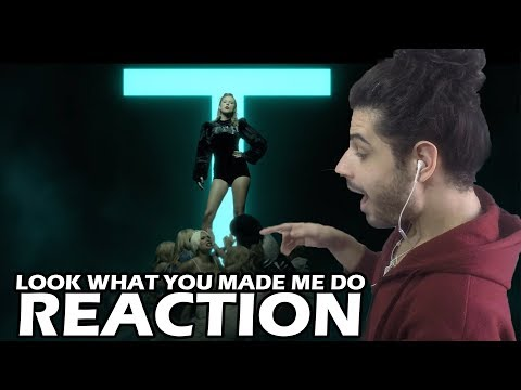 Taylor Swift - Look What You Made Me Do  REACTION  ReaçãoReview