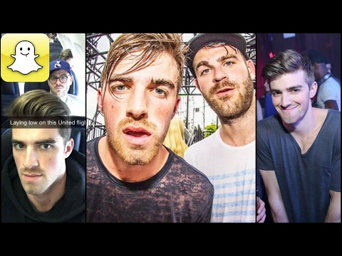 The Chainsmokers - Snapchat Video Compilation (Best 2017★)