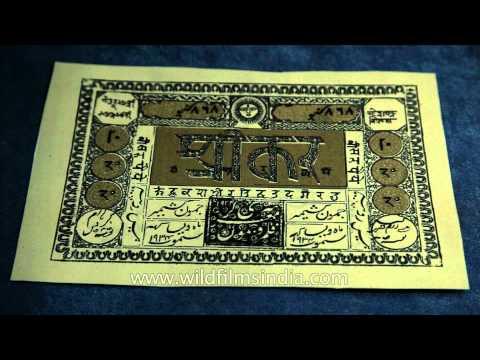 Ancient documents, rare artefacts - Shri Pratap Singh Museum, Kashmir