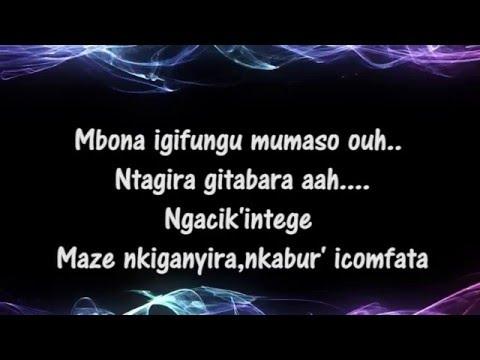 Lissa Mbony - Lay down Karaoke HD ( Burundi )