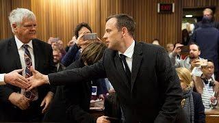 """الحكم على العدّاء الجنوب إفريقي أوسكار بيستوريوس بالسجن مدة ست سنوات في قضية """"قتل"""" صديقته عارضة…    6-7-2016"""