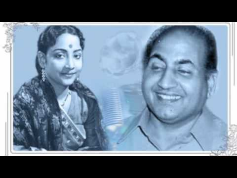 Geeta Dutt, Mohd Rafi : Dil zakhmon se choor : Film - Aadhi Raat (1950)