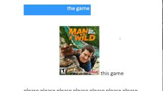 how to download the man vs wild the game help