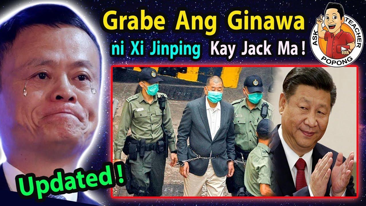 🔴 GRABE  ang  Gi-Na-Wa  ni  Xi  Jingping  kay  JACK MA !