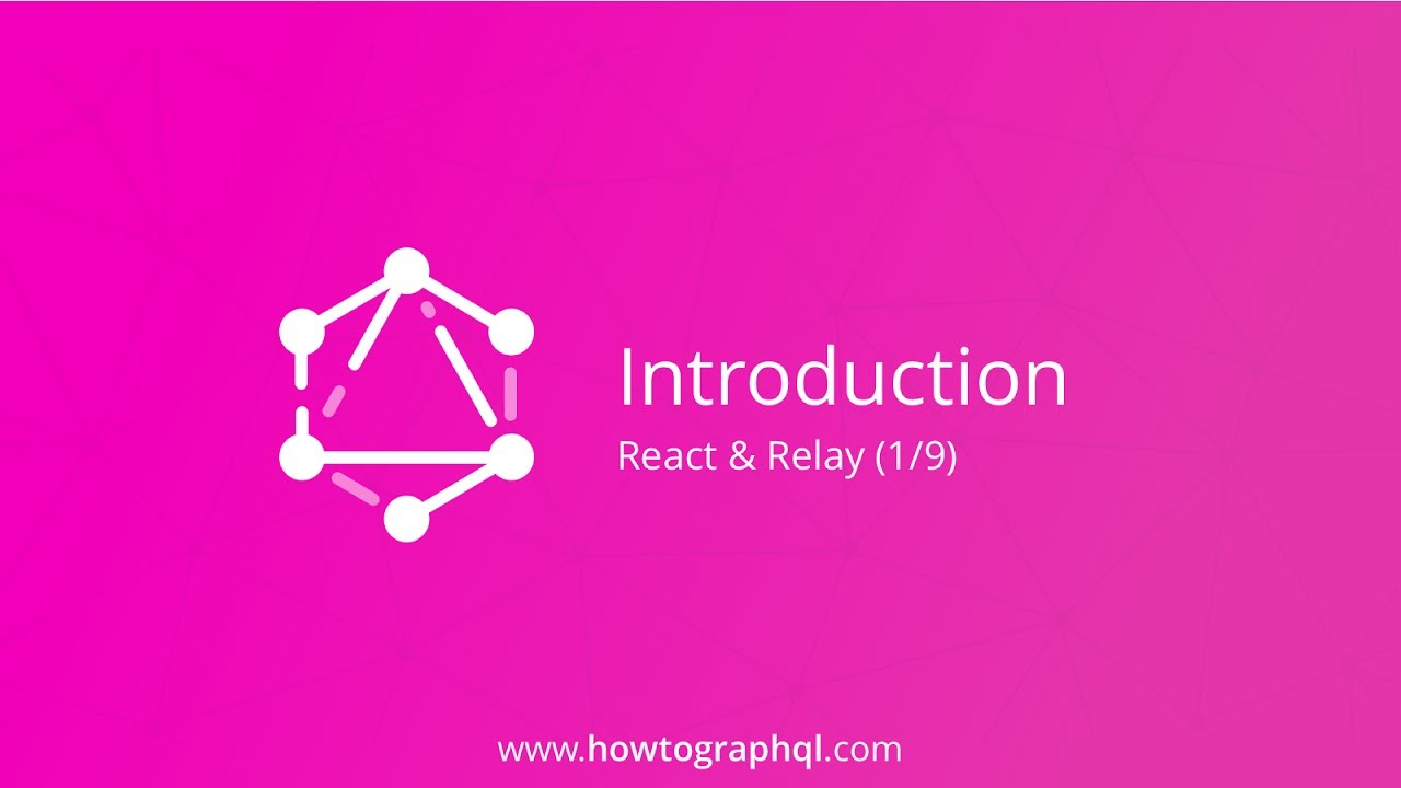 Fullstack Tutorial with GraphQL, React & Relay