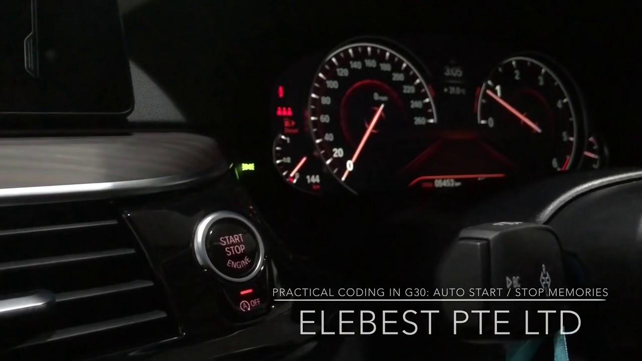 Practical Coding in G30: Auto Start/Stop Memories & Aircon Memories