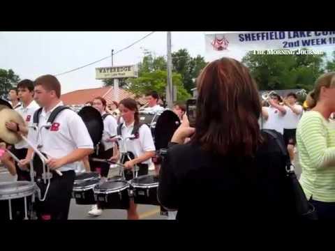 Best of Parade: #Brookside High School Marching Band @sslcscards #sheffieldissuper