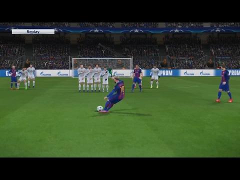 PES 2017 Lionel Messi Freekick
