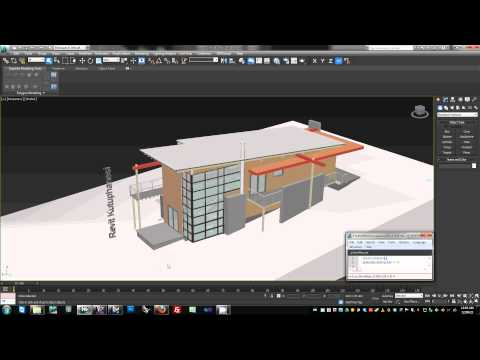 4d Construction Simulation from Revit and Navisworks to 3ds Max Design