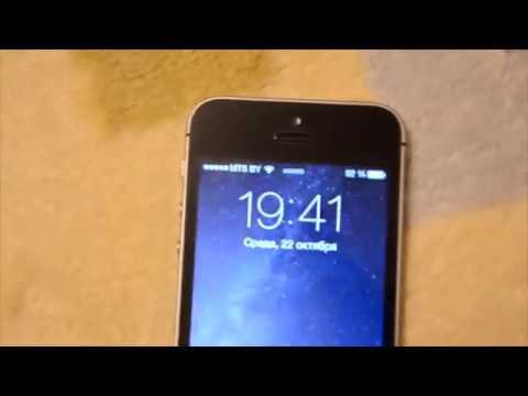 айфон 5 s перестал ловить сеть