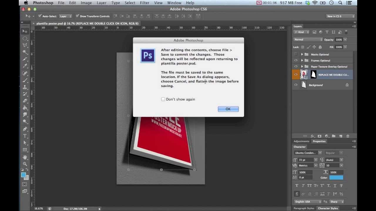 Tutorial uso de objetos inteligentes en Photoshop - YouTube