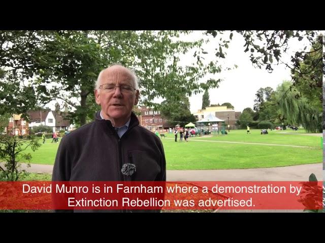 In Farnham After an XR Demonstration