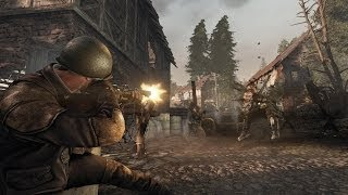 ENEMY FRONT RAID ON  ST.NAZAIRE II GAMEPLAY PC II HD