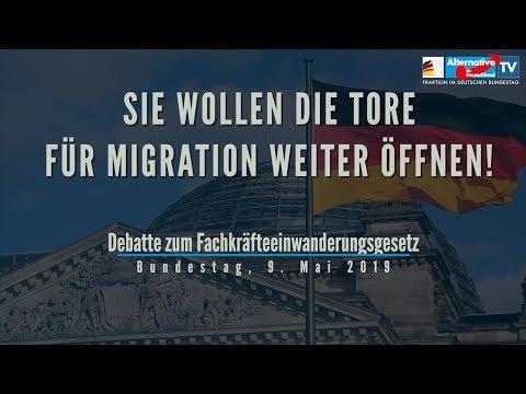 Sie wollen die Tore für Migration weiter öffnen! - AfD-Fraktion im Bundestag