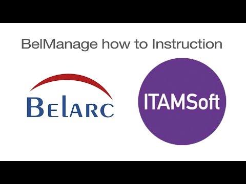 Belarc Setup and Operation of BelManage - YouTube