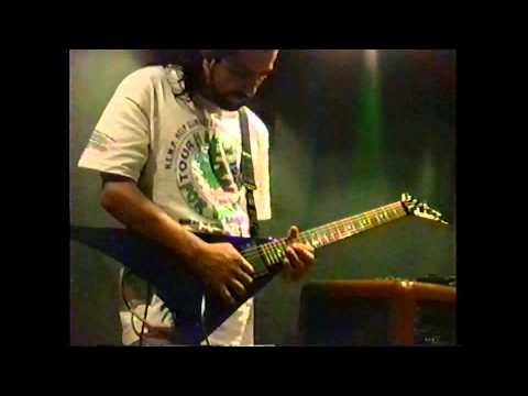 "OverDose ""Progress of Decadence"" recording sessions at Polifonia Estúdio, 1993, BH, MG, Brazil"