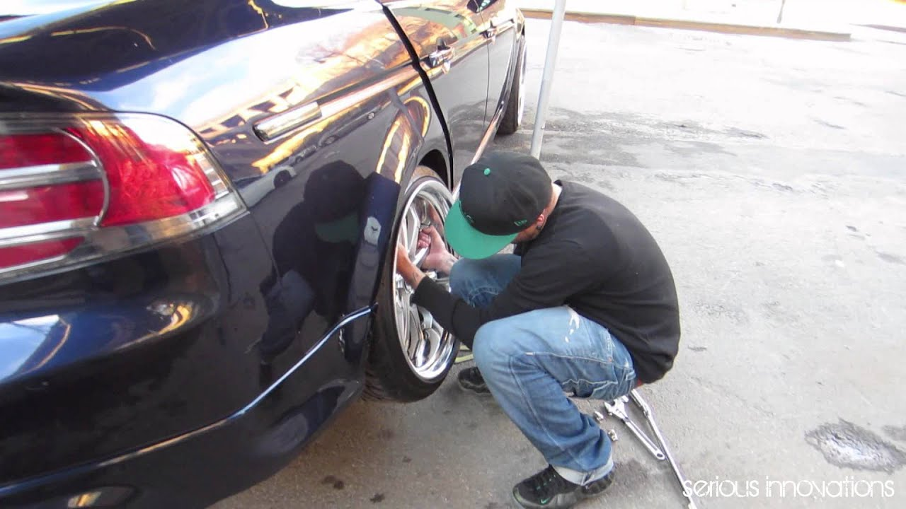 Acura TL Camber And Coilovers Adjustment With New Work Wheels YouTube - Acura tl camber kit