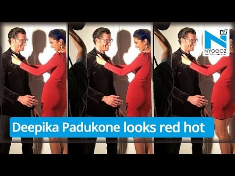 Deepika Padukone looks red hot in Paris photoshoot