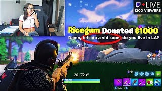 Ricegum Making Moves on My Girlfriend Prank (Fortnite Battle Royale)