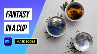 Using the Mask Tool to Create your Cup Fantasy | PowerDirector Video Editor Tutorial