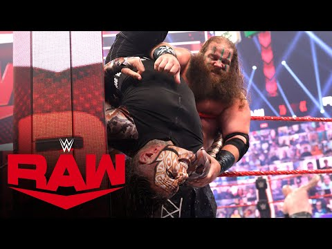 Over-The-Top-Rope Battle Royal – Winner added to Last Chance Triple Threat Match: Raw, June 28, 2021