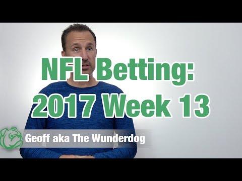 Week 13 NFL Picks 2017
