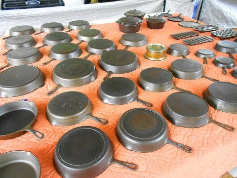 Cast Iron Treasure Hunting at Brimfield