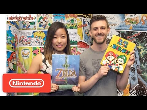 Let's Read Nintendo Comics + Giveaway – Nintendo Minute