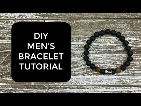 The BEST And EASIEST Men's Bracelet!  How To TUTORIAL