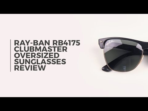 ray-ban-rb4175-clubmaster-oversized-sunglasses-review-|-smartbuyglasses