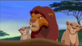 The Lion King Simba's Pride Zira Confronts Simba
