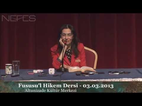 download FUSÛSU'L HİKEM DERSİ - 3 Mart 2013