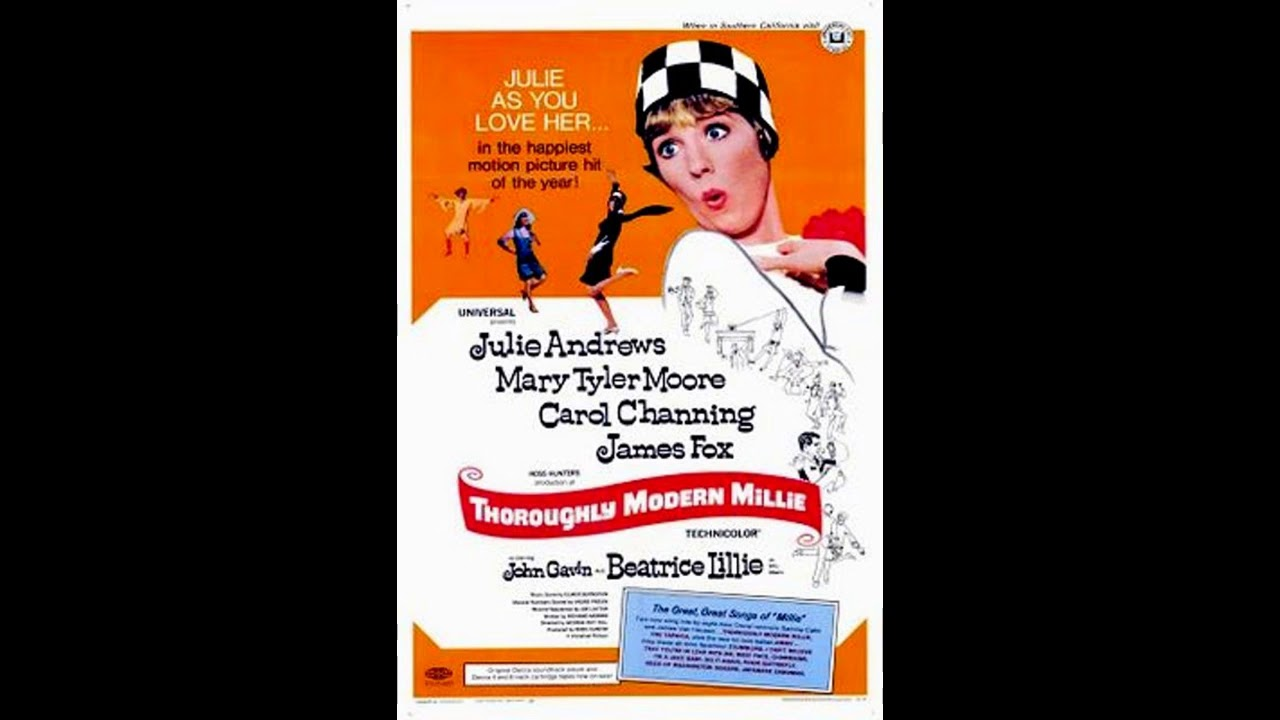 Download 映画 『 モダン・ミリー(Thoroughly Modern Millie) 』 original sound track  1967.  Dame Julie Elizabeth Andrews