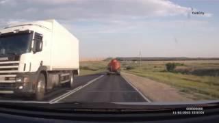 Автокатастрофа с участием бензовоза в Красноармейском районе