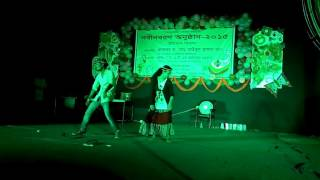 AMAZING DANCE BY JAHANGIRNAGAR UNIVERSITY STUDENT.